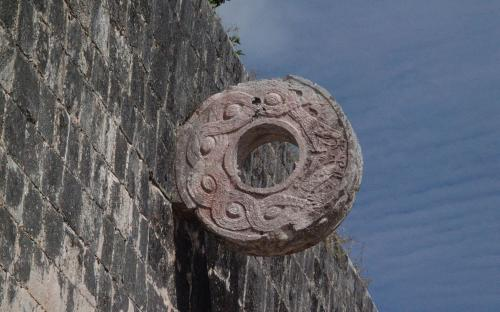 Stone Ring located 9 m (30 ft) above the floor of the Great Ballcourt. (CC BY-SA 3.0)