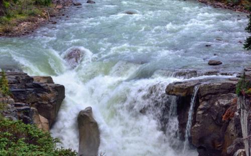 Sunwapta River and Falls (Jasper National Park) (CC BY-NC-SA 2.0)