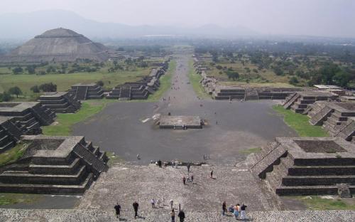 Teotihuacan. (Public Domain)