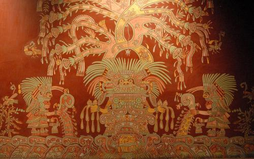A mural showing what has been identified as the Great Goddess of Teotihuacan. (CC BY-SA 2.0)