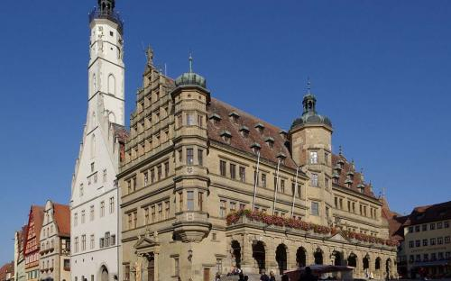 Town Hall of Rothenburg (Public Domain)