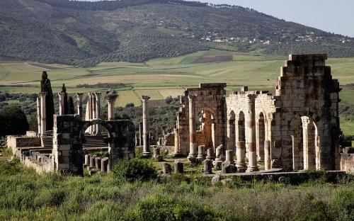 Volubilis ruins (CC BY-SA 3.0)