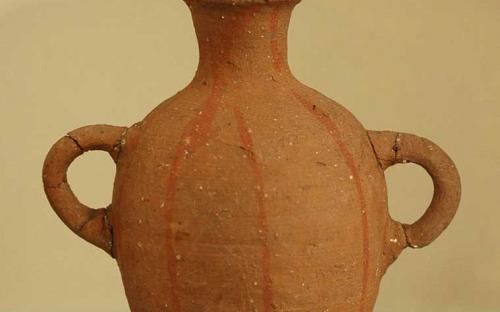 Terracotta jug from Byblos (now in the Louvre), Late Bronze Age (1600–1200 BC)