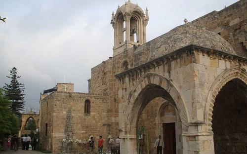 The Medieval Church of St. John in Byblos, Lebanon (Public Domain)