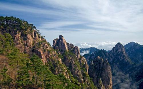 Landscape of Mount Huangshan (CC BY 2.0)