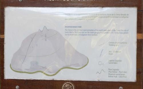 Description of Mountain Range Stone at Ciudad Perdida (Photo by Ancient-Origins.net)
