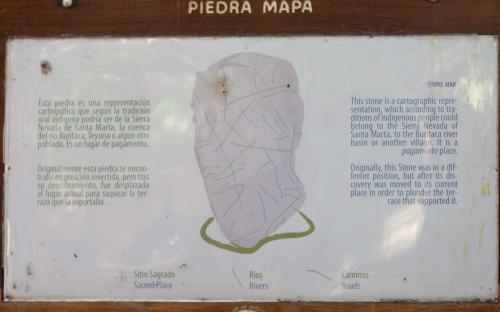 Description of Stone Map (next image) at Ciudad Perdida (Photo by Ancient-Origins.net)
