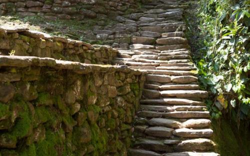 Path within Ciudad Perdida (Photo by Ancient-Origins.net)