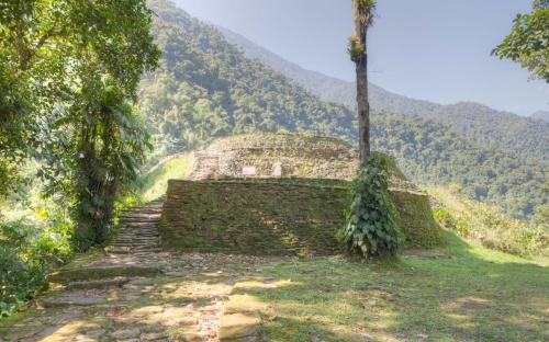 Structure at Ciudad Perdida (Photo by Ancient-Origins.net)