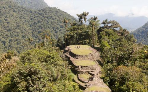 Ciudad Perdida from the top (Photo by Ancient-Origins.net)
