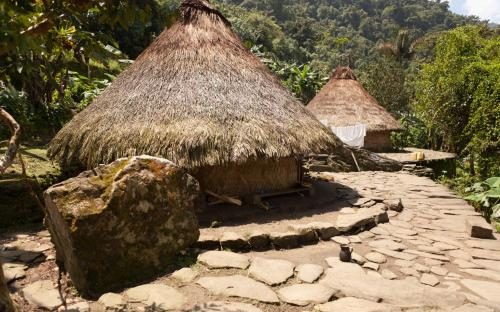Indigenous houses at Ciudad Perdida (Photo by Ancient-Origins.net)