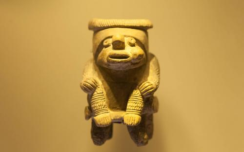 Gold Figurine - Museum of Gold, Bogota, Colombia