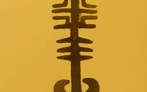 Anthropomorphus pendant- Museum of Gold, Bogota, Colombia
