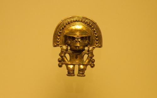 Anthropozoomorphus pendant- Museum of Gold, Bogota, Colombia