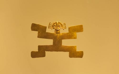 Breast plate - Museum of Gold, Bogota, Colombia