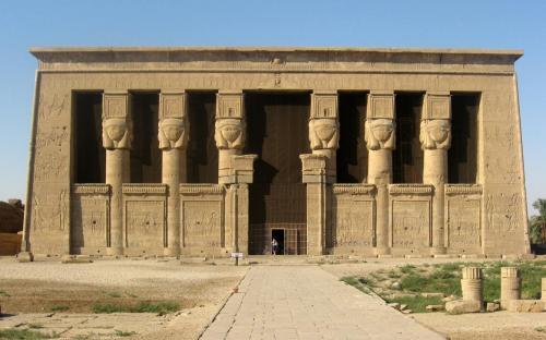 Temple of Hathor, Dendera(Public Domain)