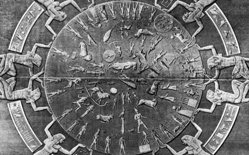 Dendera Zodiac - Egypt (www.ancient-wisdom.co.uk)