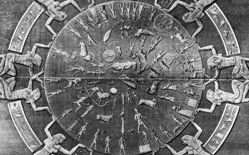 Dendera Zodiac - Egypt (www.ancient-wisdom.co.uk)