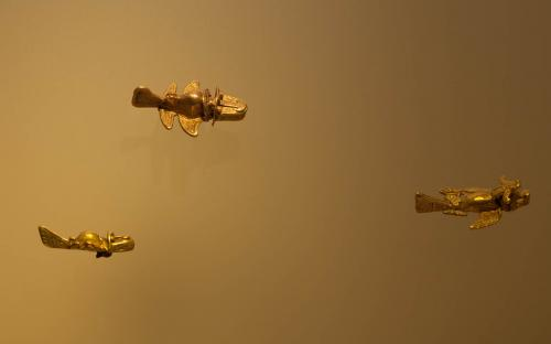 Gold Figurines - Museum of Gold, Bogota, Colombia - Copyright Ancient-Origins