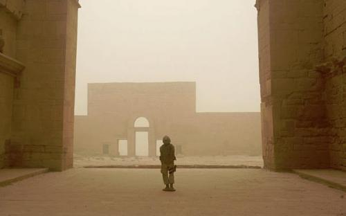 Hatra ruins in July 2008 (Public Domain)