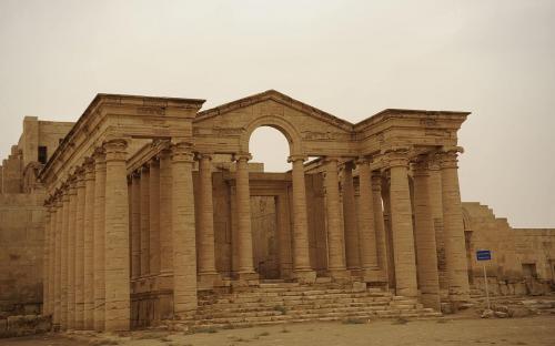 Hatra November 2008 (Public Domain)