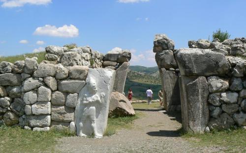 Hattusa, The King gate (CC BY-SA 3.0)