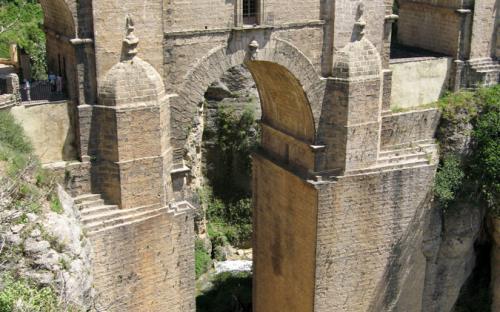 Puente Nuevo in the Ronda village, Andalucía, Spain (CC BY-SA 3.0)