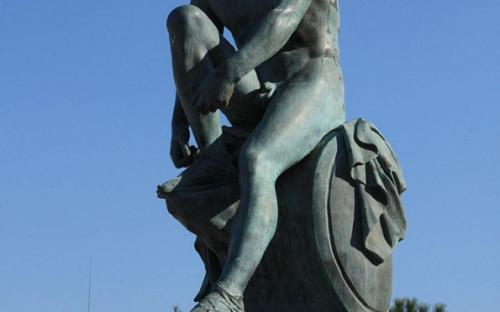 Statue of Theseus. (CC BY-SA 2.0)