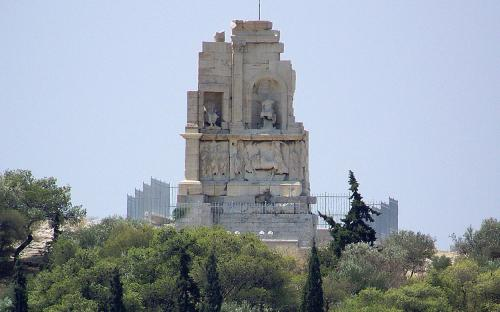 The Roman-era Philopappos Monument. (CC BY-SA 3.0)