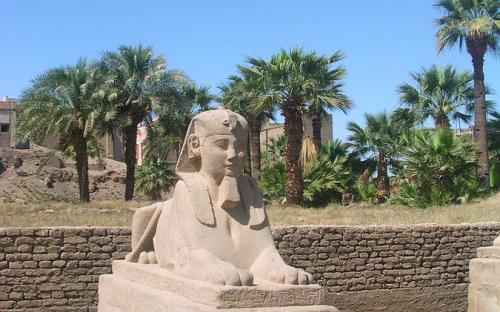 A well-preserved sphinx. (Public Domain)