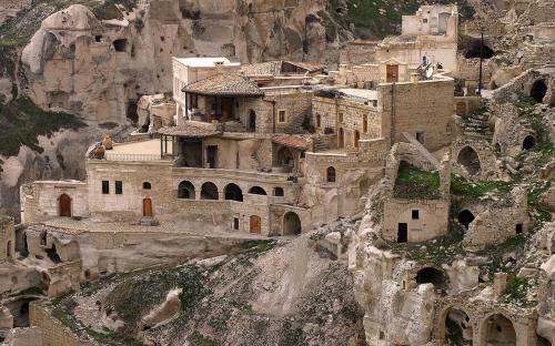 A house in Cappadocia. (CC BY-SA 3.0)