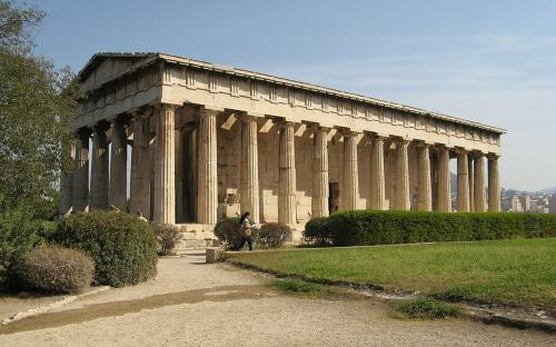 The Temple of Hephaestus is the best-preserved of all ancient Greek temples. (Public Domain)