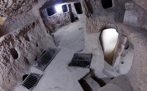 Kaymakli underground city. (CC BY-SA 3.0)