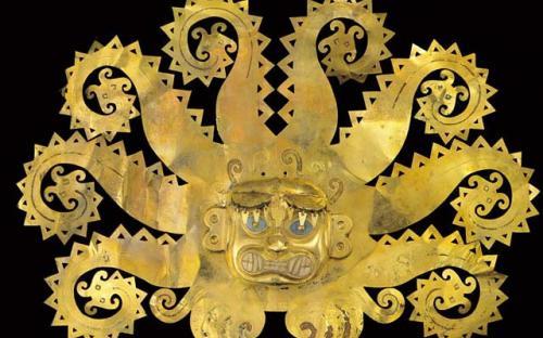 Inca Golden Mask