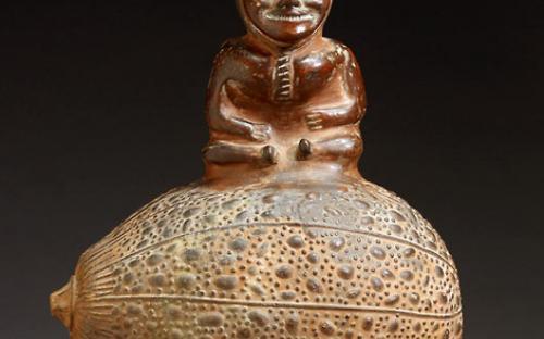 Vessel of Spirit Man on Gourd