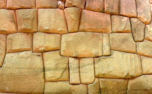 Wall at Cuzco, Perou