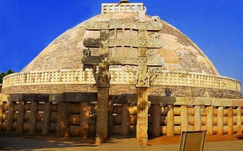 The Great Sanchi Stupa (CC BY-SA 2.0)