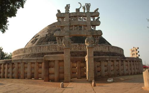 Sanchi Stupa (CC BY-SA 2.0)