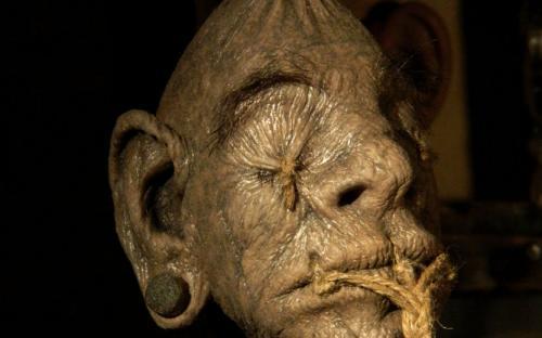 Shrunken Head (Image: Devian Art by The-Krypt-Creature)