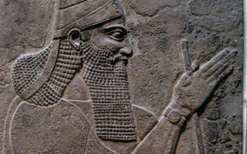 Tiglath-Pileser III, king of Assyria, from Nimrud