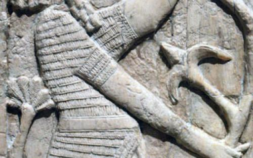 Sumerian male figure
