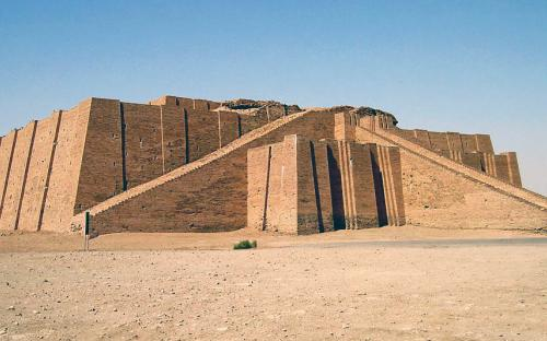 The ancient Sumerian City of Ur