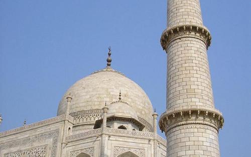 Base, dome and minaret. (CC BY-SA 3.0)