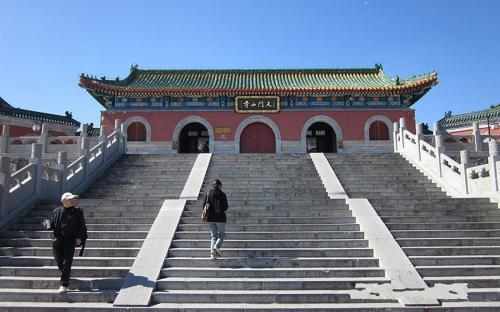 Tianmenshan Temple. (Public Domain)