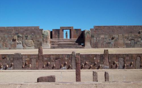 Tiwanaku Verzonken Temple. (Public Domain)
