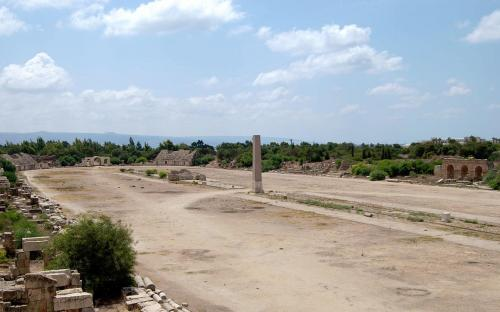 Roman Hippodrome in Tyre. (CC BY-SA 3.0)