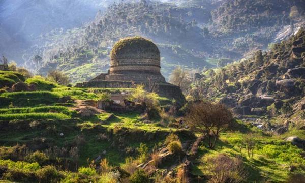 Buddhist Monastery Swat Pakistan.