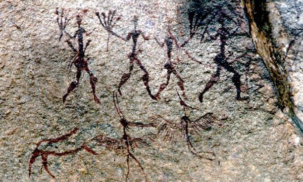 Nsangwini Bird Men.
