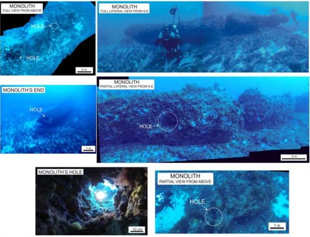 Underwater Discovery: Stone Age Humans Precisely Carved a 15 ton Stone Pillar