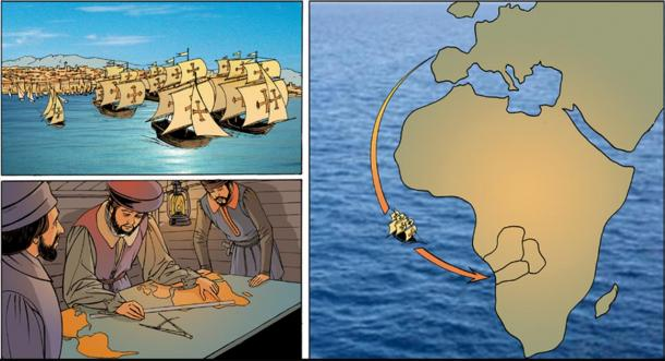In 1575, Portuguese conquistadores were sent to Africa to subjugate Angola (CC by SA 3.0)